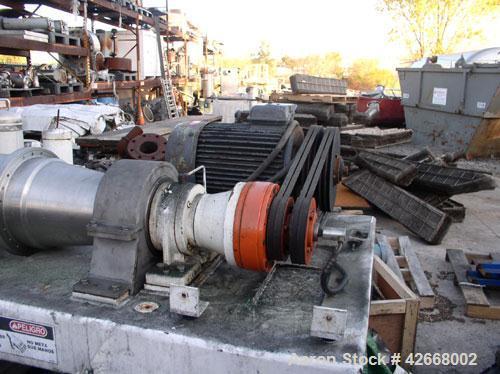 Used- Flottweg Solid Bowl Horizontal Decanter Centrifuge, Model ZL1