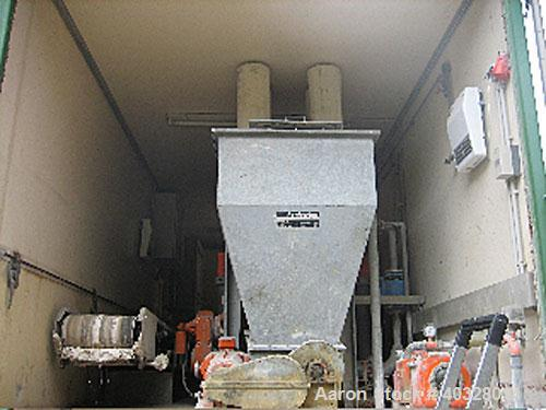 Used-KHD/Humboldt Mobile Decanter Centrifuge System mounted on closed four wheel semitrailer, model S1-11. Carbon steel, 13....