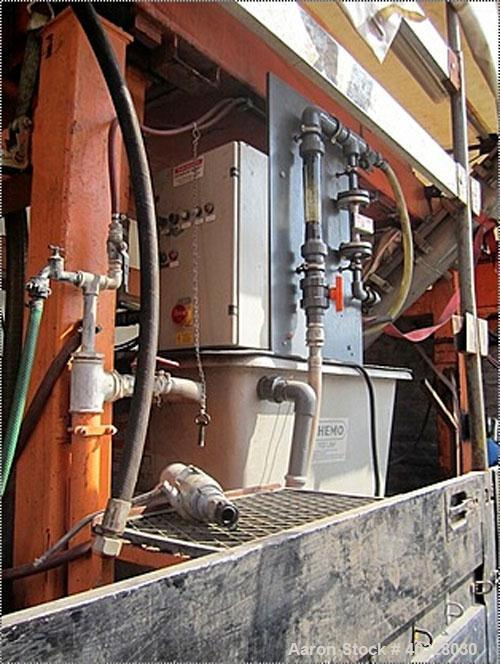 Used-Mobile Decanter System consisting of: (1) KHD 53-01 solid bowl decanter centrifuge, material of construction is carbon ...