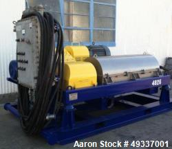 Used- Centrisys Skid Mounted Centrifuge, Model CS-18.