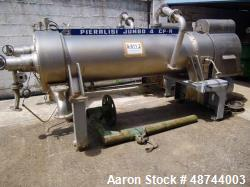 Used- Pieralisi Jumbo CP-4-A Decanter Centrifuge. Stainless steel construction on product contact areas, 3 phase. Capacity 5...