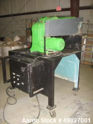 Sharples P-600 Super-D-Canter Centrifuge. base, casing, gearbox, vari-speed main drive, vari-speed ...
