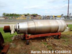 Sharples PM-95000 Super-D-Canter Centrifuge, 316SS. Max bowl speed 2300 RPM, 3000 G's, rated at 540...