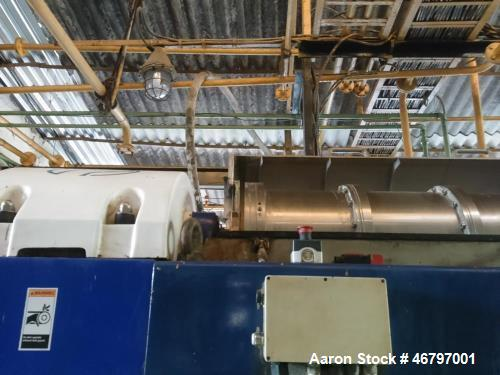 Alfa Laval NX-418 Solid Bowl Decanter Centrifuge