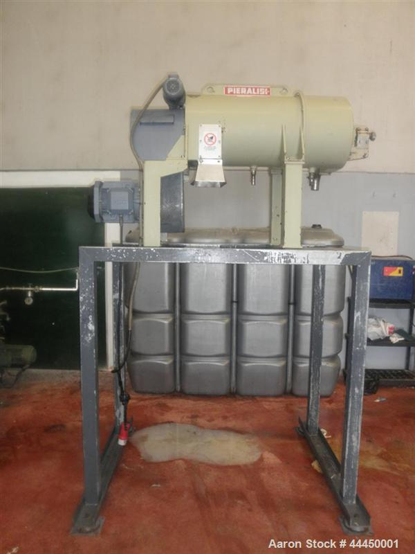 Used-Pieralisi Baby 2 Solid Bowl Decanter Centrifuge