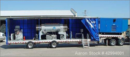 Used-40' Mobile Pieralisi Giant 2 Decanter Centrifuge System, stainless steel construction (product contact areas), max bowl...