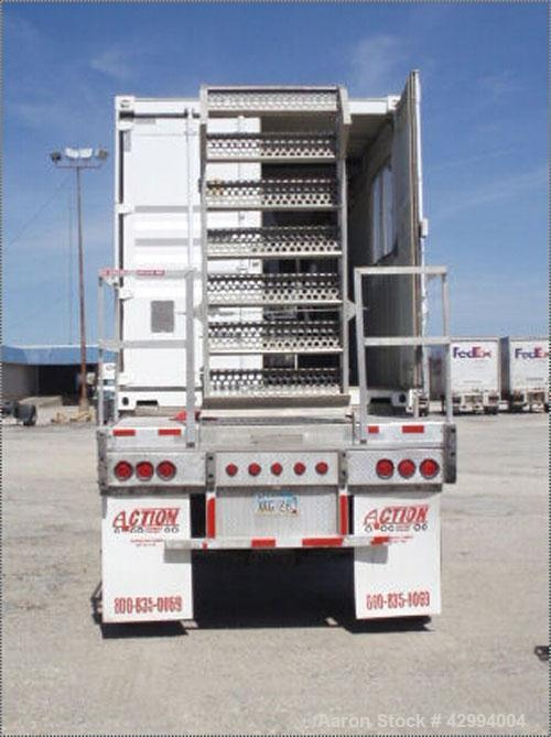 Used-40' Containerized Mobile Pieralisi Jumbo 3 Decanter Centrifuge System, stainless steel construction (product contact ar...