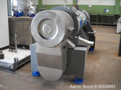 """Used-Pieralisi Jumbo 3 Solid Bowl Decanter Centrifuge.  ATEX / gastight, maximum speed 3350 rpm, drum diameter 18.5"""" (470 mm..."""
