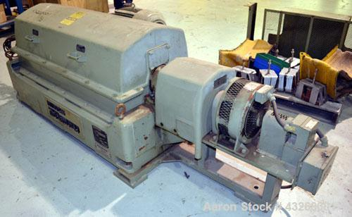 Used- Sharples PM-35000 Super-D-Canter Centrifuge. 316 Stainless steel construction on product contact areas, maximum bowl s...