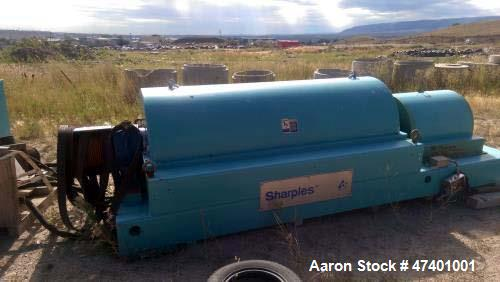 Used- Sharples DS-705 Super-D-Canter Centrifuge. 317 stainless steel construction (product contact areas), single lead conve...