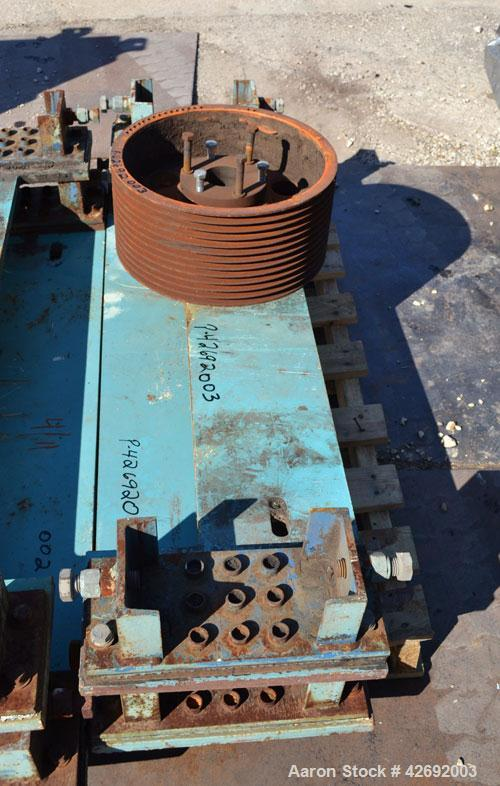 Used- Sharples Super-D-Canter DS-706 Centrifuge, 317 Stainless steel construction on product contact areas. Maximum bowl spe...