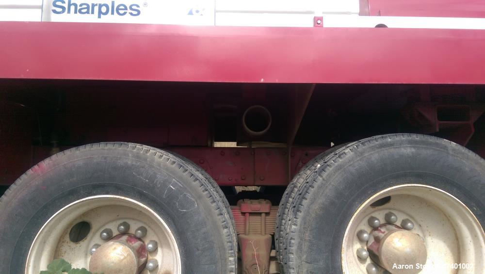 Used- Sharples DS-705 Super-D-Canter Centrifuge. Mounted on 1982 Peterbuilt truck for mobile dewatering applications, stainl...