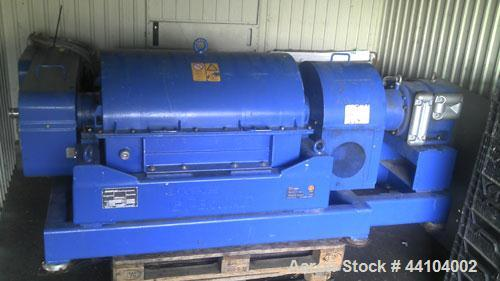 Used-Sharples Pennwalt P-30000 Super-D-Canter Centrifuge.  316 Stainless steel (product contact areas), bowl speed 3250 rpm....