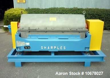 Used- Sharples P3400 Decanter Centrifuge. Decanter has been recently overhauled running a 37KW main drive with a 4KW back dr...