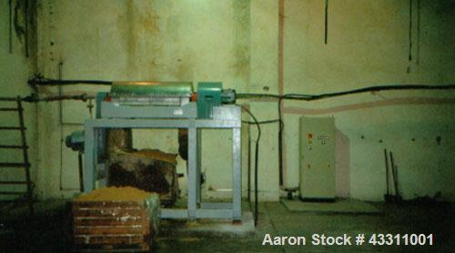 Used-Sharples P-3400 Super-D-Canter Centrifuge, 316 stainless steel construction on product contact parts.  Maximum bowl spe...