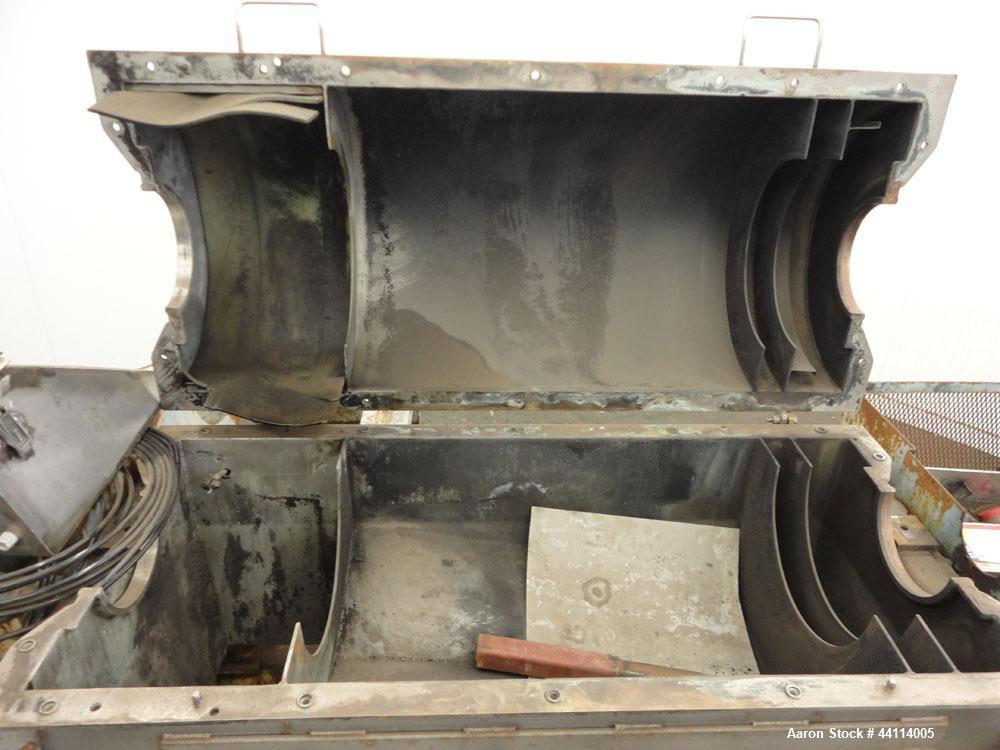 Used- Sharples Super-D-Canter Centrifuge Base and Casing Assembly
