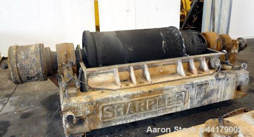 """Used- Sharples P-5000 Super-D-Canter Centrifuge. 316 Stainless steel product contact areas. Maximum bowl speed 3000 rpm. 5"""" ..."""