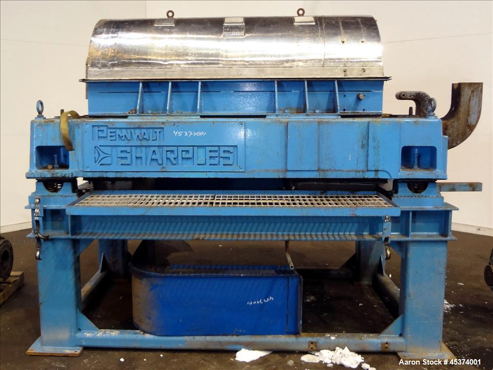 Used- Sharples P-5000 Super-D-Canter Centrifuge.