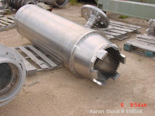 Unused-RECONDITIONED Sharples P-5400 Super-D-Canter centrifuge, 316/317stainless steel product contact areas. Max bowl speed...