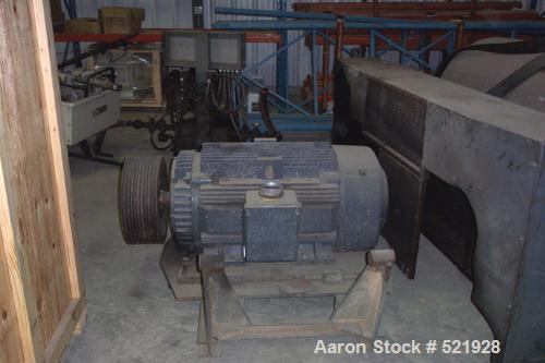 USED: Sharples P-5400 Super-D-Canter centrifuge, 316 stainless steel construction on product contact areas. Max bowl speed 2...