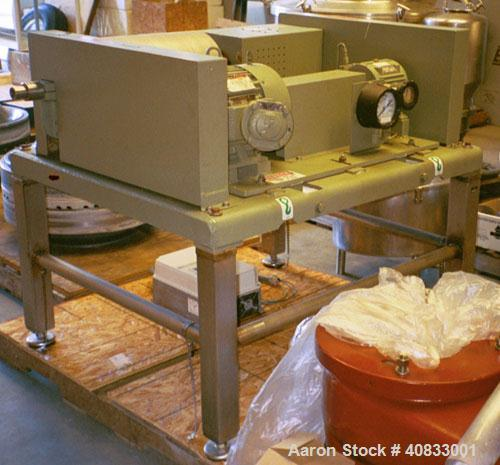 Used-Decanter  USED SHARPLES P-660 SUPER-D-CANTER CENTRIFUGE, 316 STAINLESS STEEL CONSTRUCTION ON PRODUCT CONTACT AREAS. MAX...
