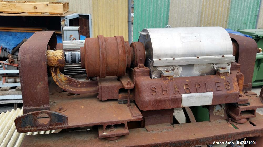 Used- Sharples P-660 Super-D-Canter Centrifuge