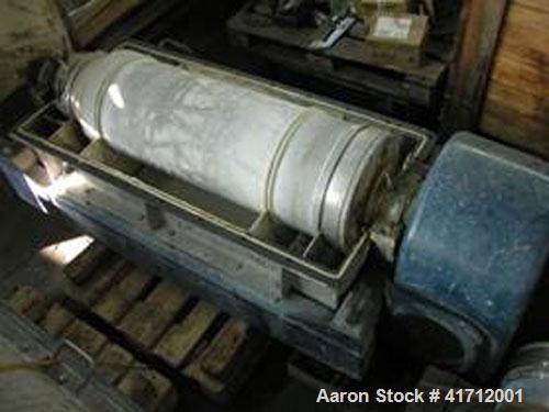 Used-Sharples P3400-SDC Super-D-Canter Centrifuge. 316Ti stainless steel construction on product contact areas. Max bowl spe...