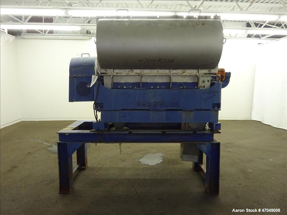 Sharples P-3400 Super-D-Canter Centrifuge