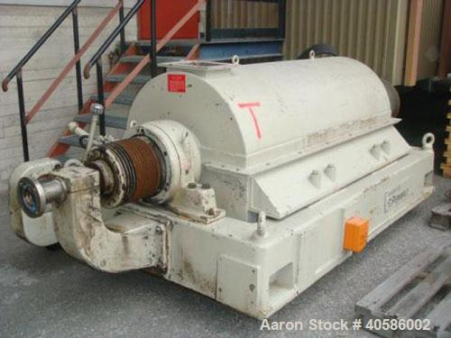 Used-Sharples Pennwalt P5400 Super-D-Canter centrifuge, stainless steel on product contact parts. Designed for solution infe...