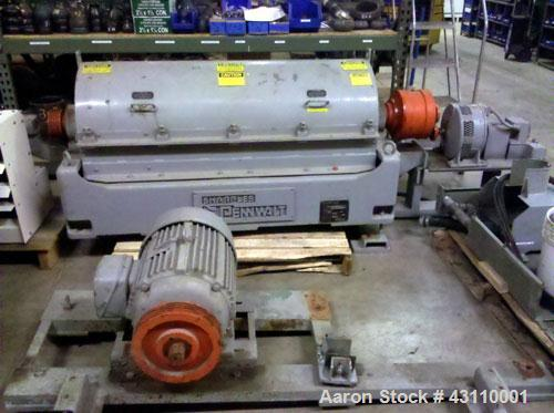 Used- Sharples PM-30000 Super-D-Canter Centrifuge (same as a P-3400), max bowl speed 4000, single lead conveyor w/STC wear p...