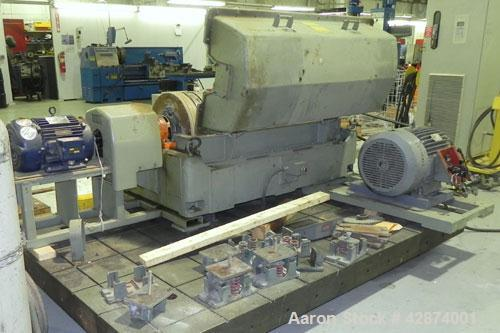Used- Sharples PM-35000 (Type RR-392) Super-D-Canter Centrifuge System. Driven by a 30 HP, 3/60/460 Volt, 1755 RPM motor. 10...
