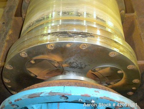 Used- Sharples PM-38000 Super-D-Canter Centrifuge, 316 Stainless Steel Construction On Product Contact Areas. Maximum bowl s...