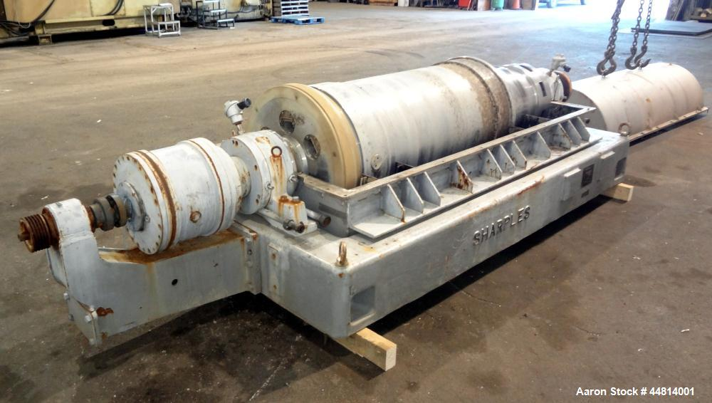 Used- Stainless Steel Sharples Super-D-Canter Centrifuge, PM-55000