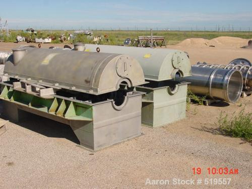 Unused-RECONDITIONED Sharples PM-70000 Super-D-Canter centrifuge, 316/317stainless steel product contact areas. Max bowl spe...