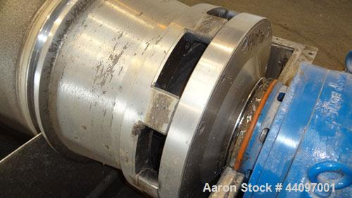 Used- Stainless Steel Sharples Super-D-Canter Centrifuge