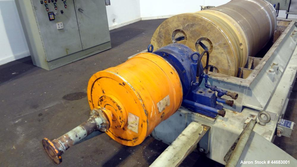 Used- Stainless Steel Sharples Super-D-Canter Centrifuge, PM-75000