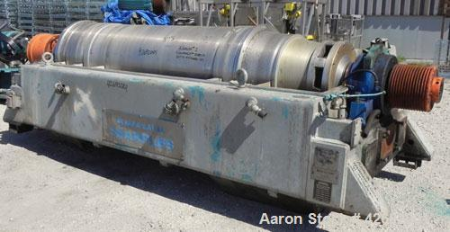 Used- Stainless Steel Sharples Super-D-Canter Centrifuge, PM-76000