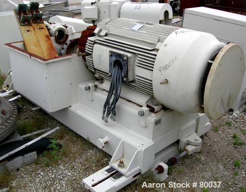 USED- Sharples PM-85000 Super-D-Canter Centrifuge, 316 Stainless Steel Construction on Product Contact Areas. Max bowl speed...