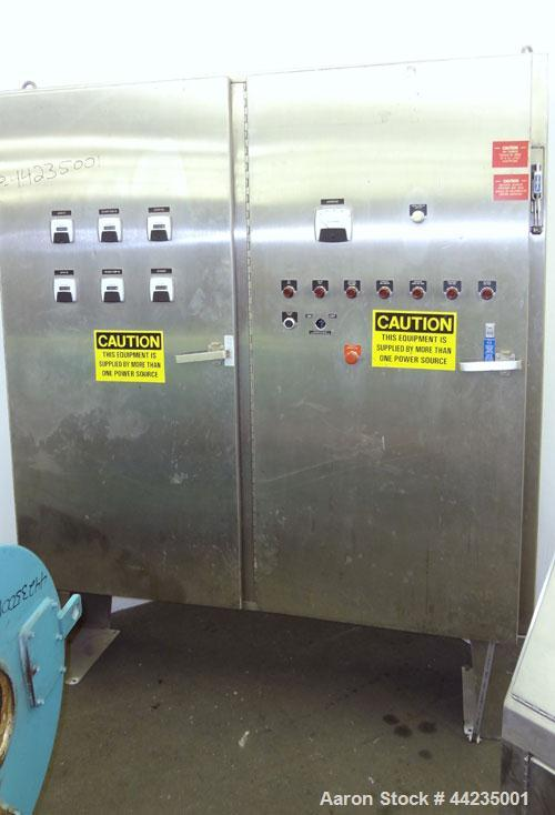 Used- Sharples PM-35000 Super-D-Canter Centrifuge. 316 Stainless steel construction (product contact areas), maximum bowl sp...