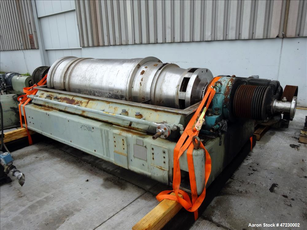 Used- Sharples Super-D-Canter Centrifuge, Model SG-15.
