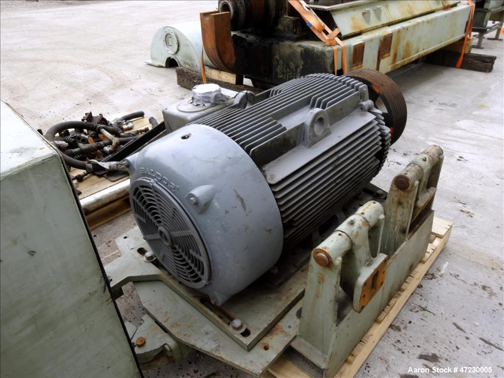 Used- Sharples SG-15 Super-D-Canter Centrifuge