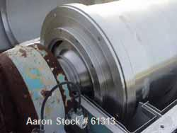 Used- Sharples P-5400 Super-D-Canter Centrifuge base, carbon steel construction