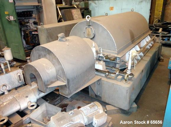 Unused- Stainless Steel Sharples Super-D-Canter Centrifuge