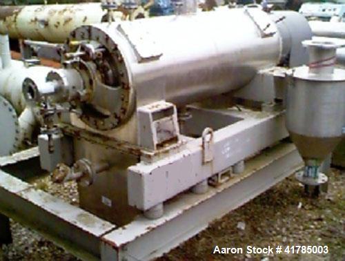 Used- Stainless Steel Siebtechnik Decanter Centrifuge, TS-420EK