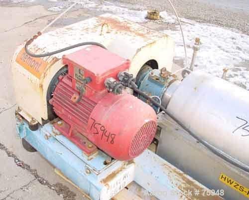 Used- Sulzer Escher Wyss Decanter Centrifuge, Type ZDC-30
