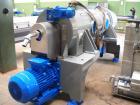 Used-Pieralisi Jumbo 3 Solid Bowl Decanter Centrifuge.  ATEX / gastight, maximum speed 3350 rpm, drum diameter 18.5