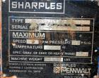 Used- Sharples PM-35000 Super-D-Canter Centrifuge, 316 stainless steel construction on product contact areas.  Max bowl spee...