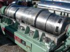 Bowl grooves USED: Tomoe/Sharples PM-75000 Super-D-Canter centrifuge, 316 stainless steel construction on product contact ar...