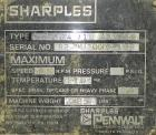 Used- Sharples PM30000 Decanter Centrifuge, Type PR264/10 484720, 316 Stainless Steel. Driven by a 30 HP, 3/60/575 Volt, 175...