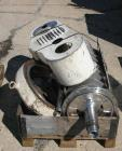 Used- Stainless Steel Westfalia Decanter Centrifuge, CA365-010